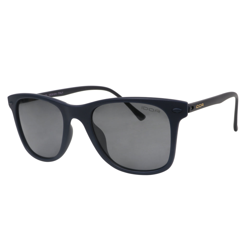 Night Boarder Wayfarers - Unisex Rectangular Black Sunglasses (ID5006 C5)