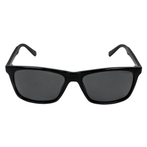 Upper-Crest Wayfarers - Unisex Rectangular Black Sunglasses (ID5007 C1)