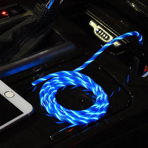 Type-C Android Blue LED Charging Cable (Illume)