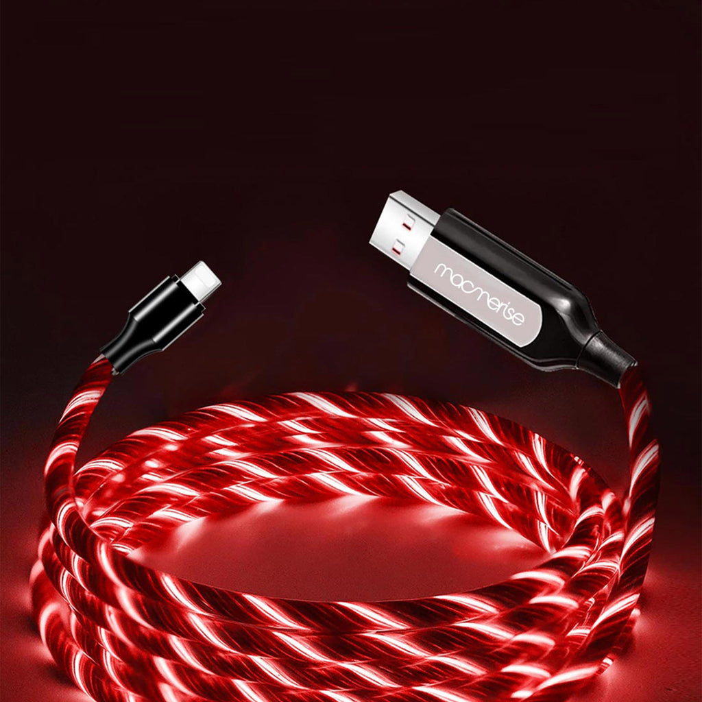 Apple Lightning Red LED Charging Cable (Illume)