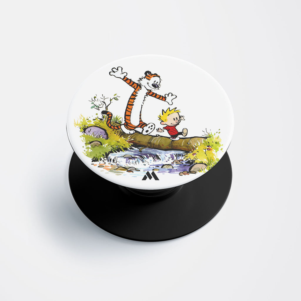 Calvin Hobbes Summer Afternoons Pop Holder