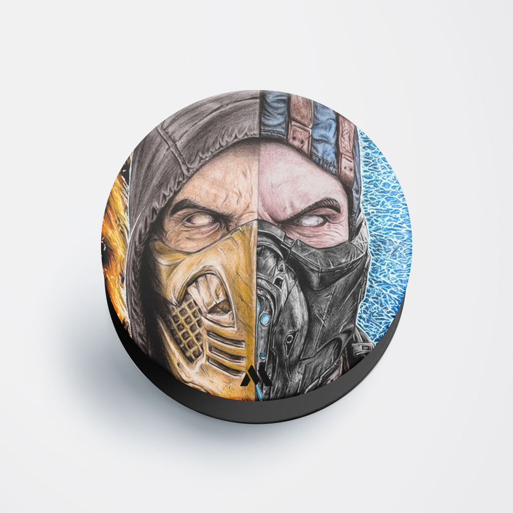 Scorpion SubZero Split Screen Pop Holder