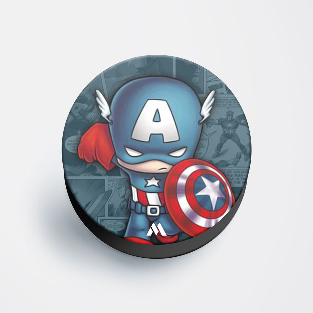 Captain America In Training Pop Holder
