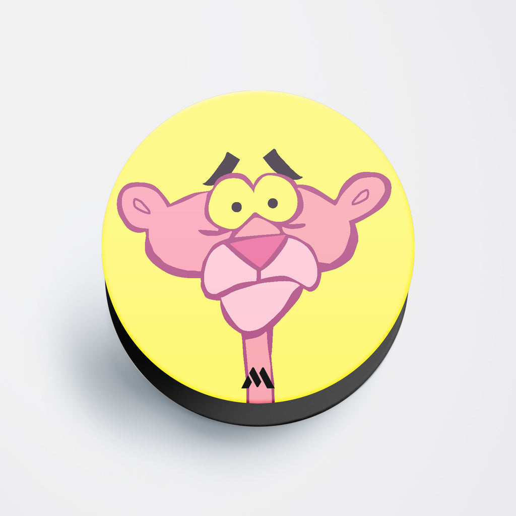 Pink Panther Doodle Pop Holder