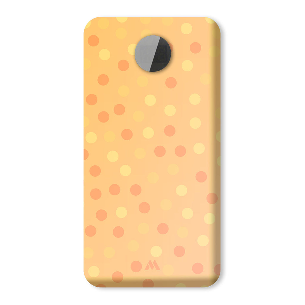 Polka Dots in Yellow Designer Power Bank (10,000 mAH)