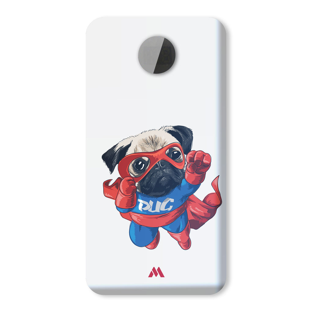 Up Up and Away Pug Designer Power Bank (10,000 mAH)