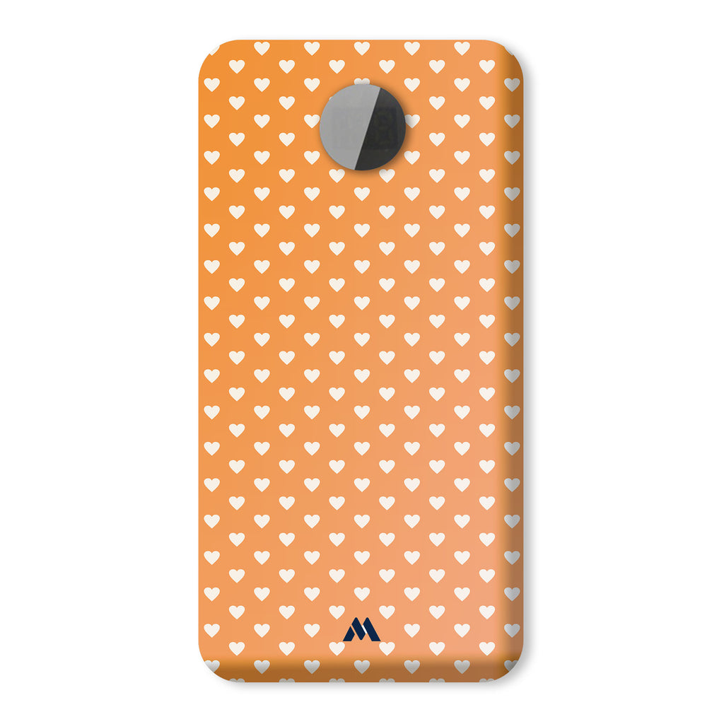 Hearts in Orange Designer Power Bank (10,000 mAH)