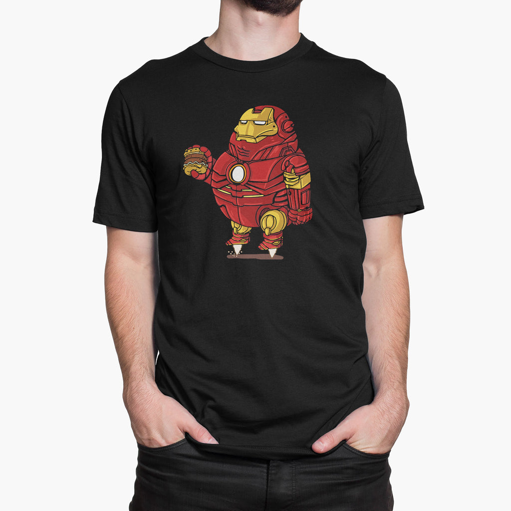 Fat Ironman Round-Neck Unisex T-Shirt