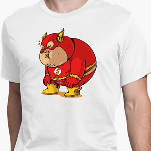 Fat Flash Round-Neck Unisex T-Shirt