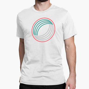 Geometric Mobius Strip Round-Neck Unisex T-Shirt