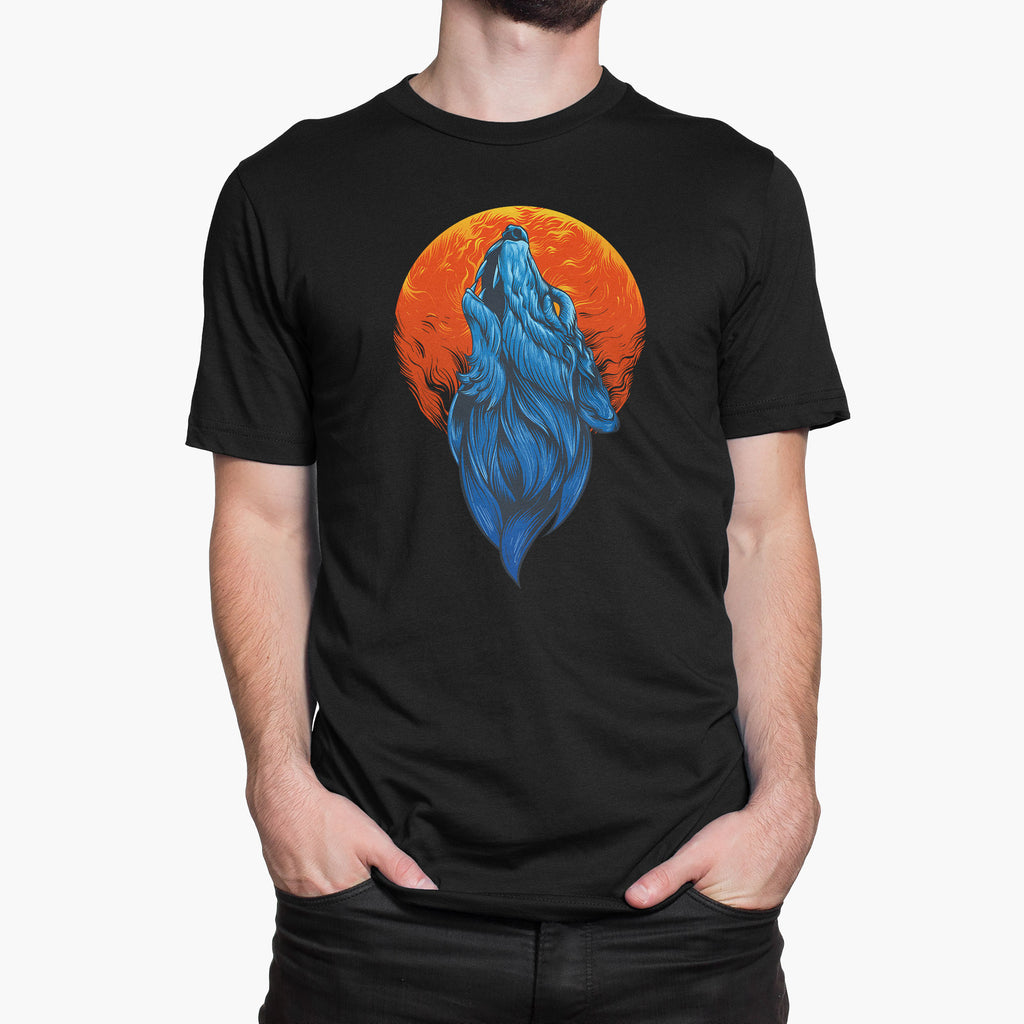 Howl at the Moon Round-Neck Unisex T-Shirt