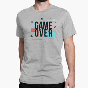 Game Over Round-Neck Unisex T-Shirt