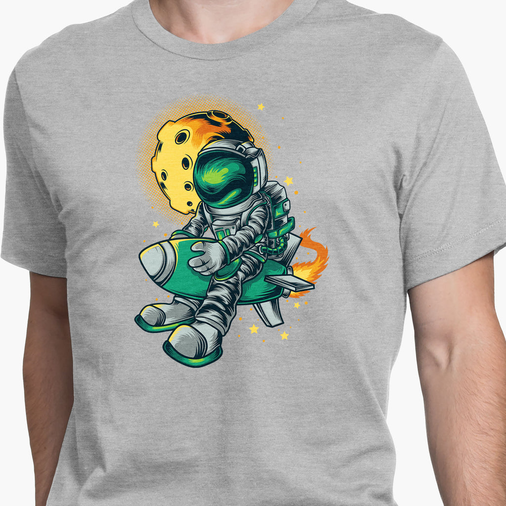 Leaving on an Asteroid Round-Neck Unisex T-Shirt