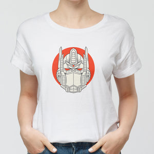 Mecha Warrior Round-Neck Unisex T-Shirt