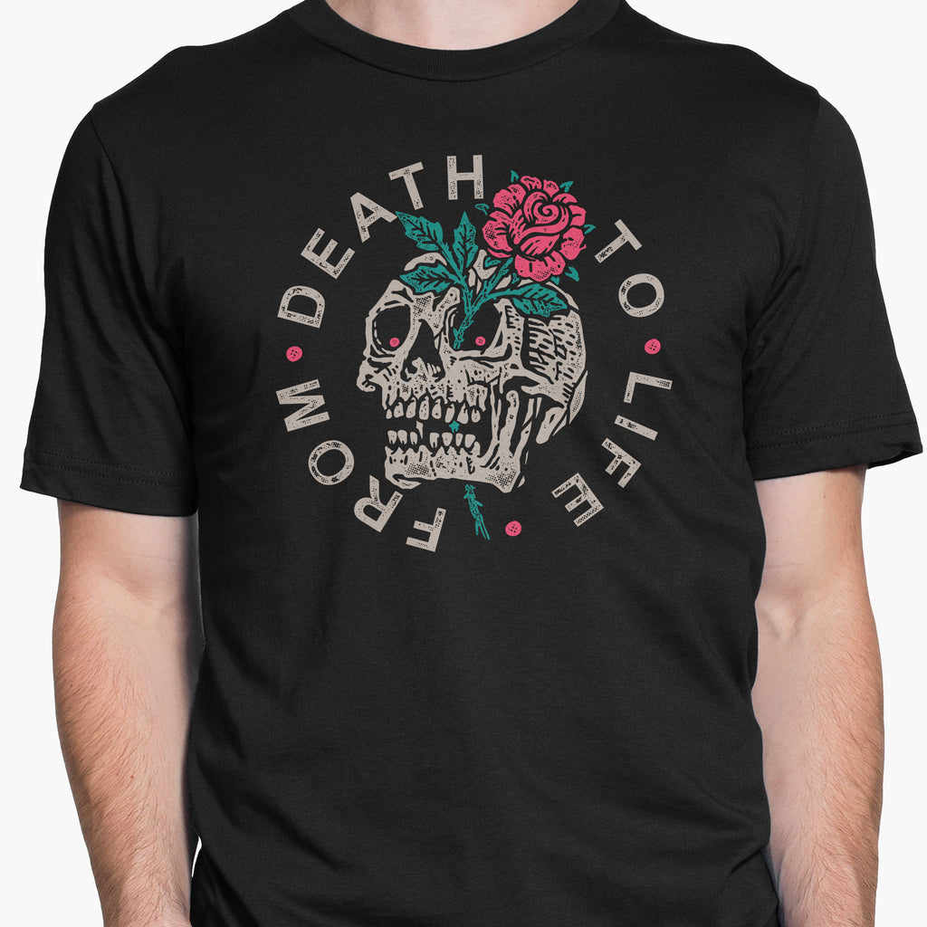 From Death To Life Round-Neck Unisex T-Shirt