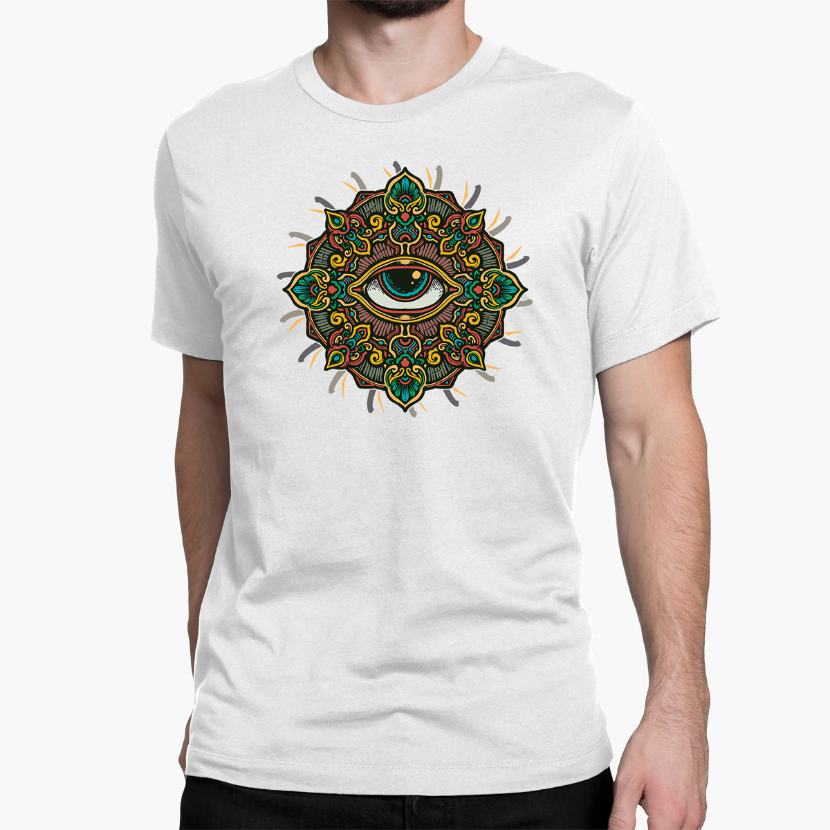 The All Seeing Eye Round-Neck Unisex T-Shirt