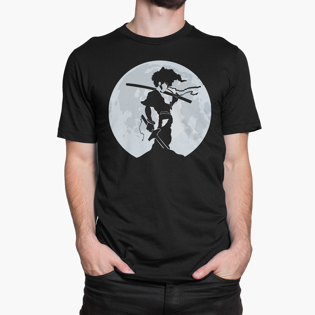 Afro Samurai Nothing Personal Just Revenge Round-Neck Unisex T-Shirt