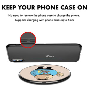 Fat Spock Designer Wireless Charger Pro