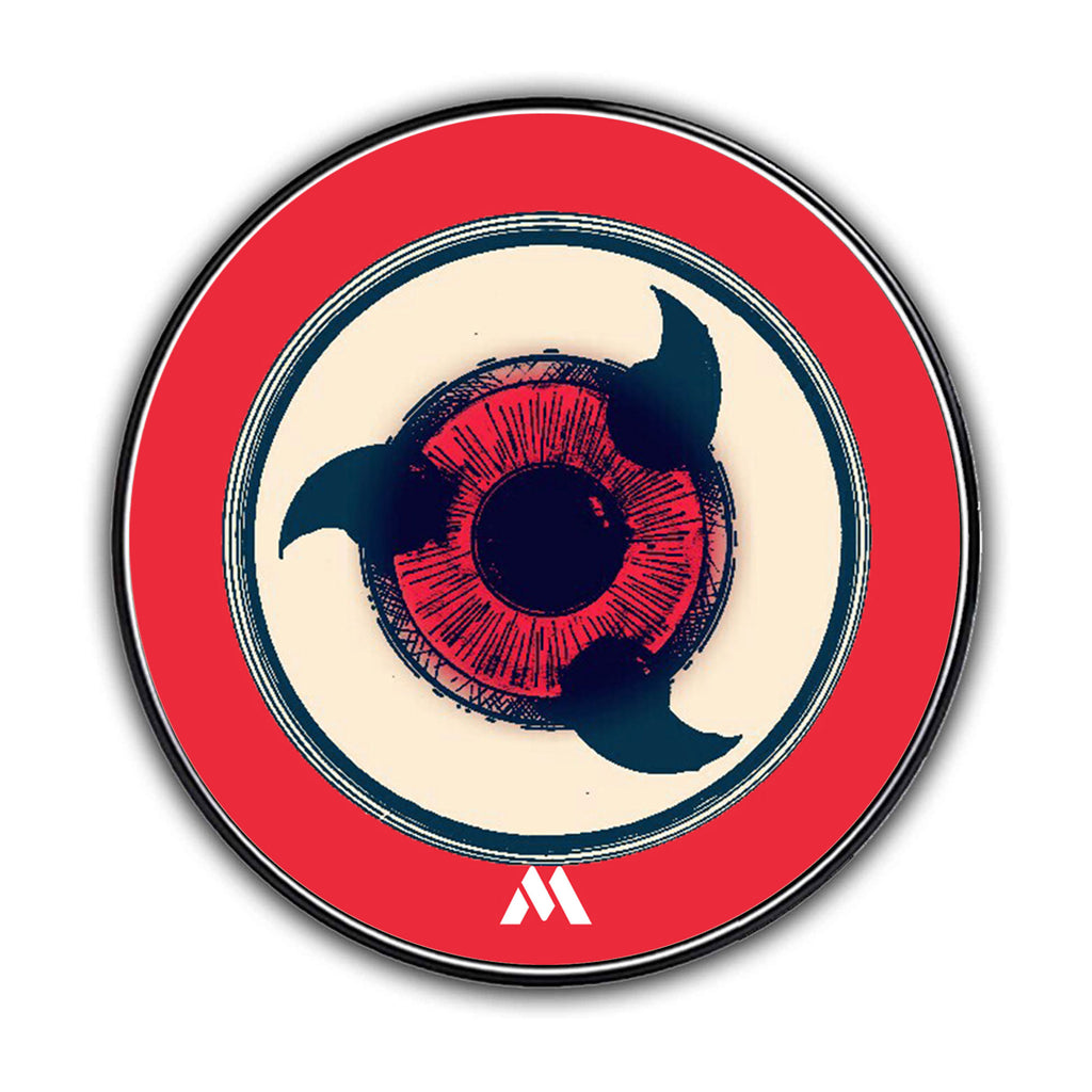 Naruto Sharingan Eye Designer Wireless Charger Pro