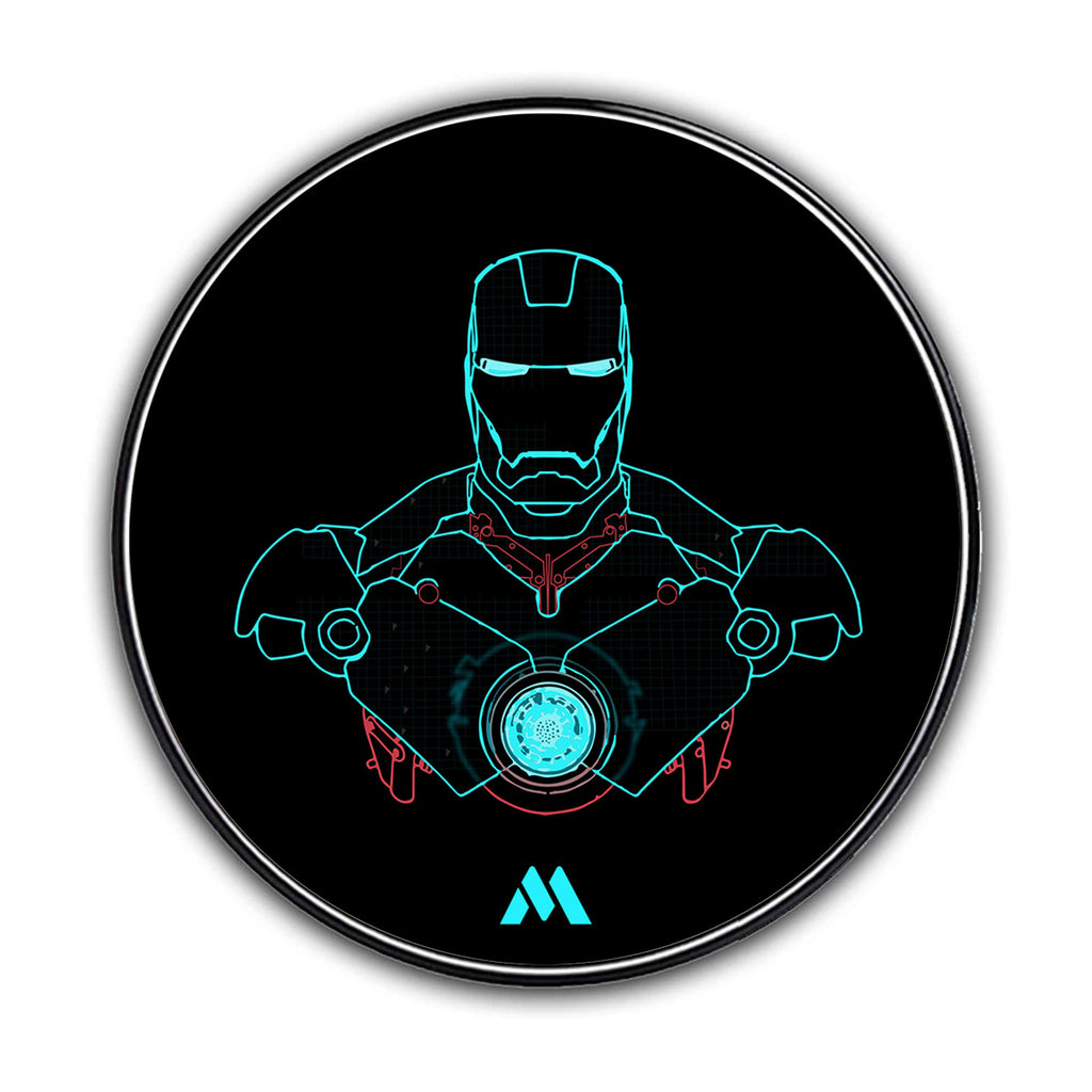 Ironman Arc Reactor Designer Wireless Charger Pro
