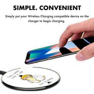 A Job for Science Designer Wireless Charger Pro