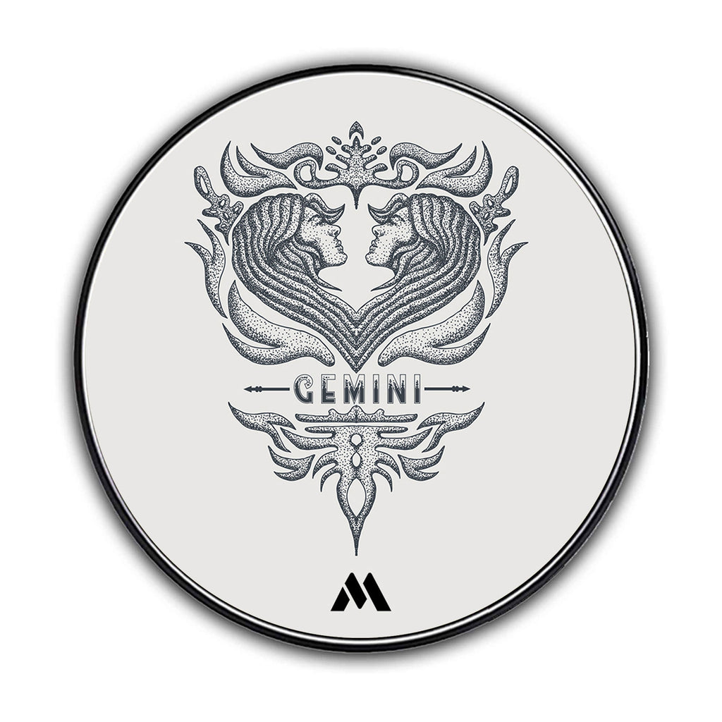 Gemini Zodiac Star Sign Designer Wireless Charger Pro