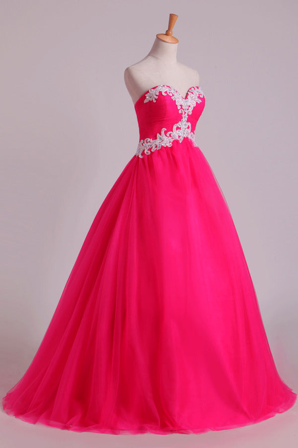 2020 Sweetheart Ball Gown Floor Length Quinceanera Dresses PPCFK3NB