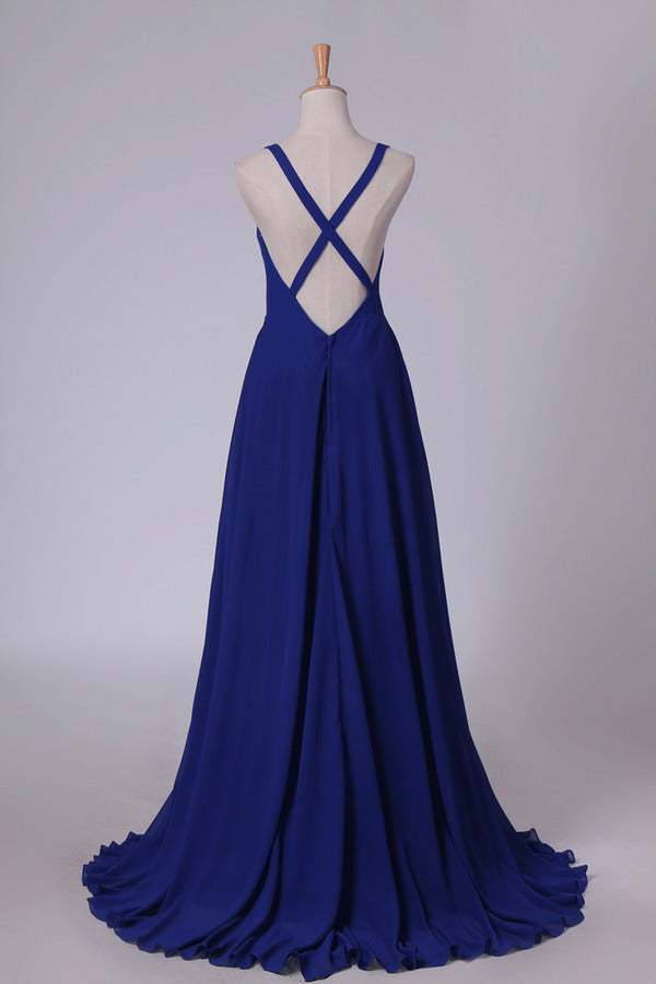 2020 Straps Bridesmaid Dresses Open Back A PAHE7KSD