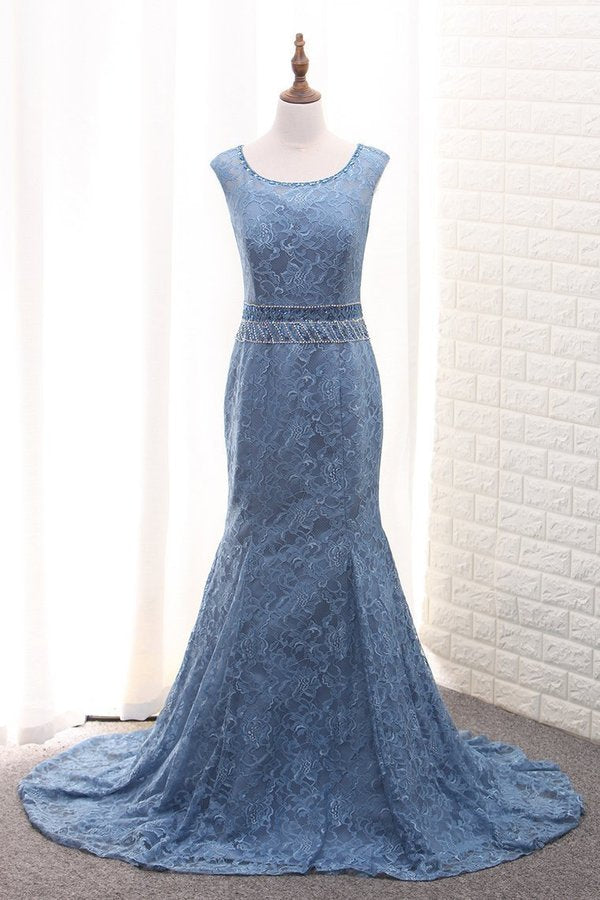 2020 Scoop Mermaid Lace Mother Of The Bride Dresses With PPPJ8CKS