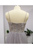 SweetHeart Neckline Beaded Bodice Tulled Skirt Prom STHP6CYPLG9