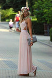 Pd582 High QualityCharming Prom Dress Chiffon Prom Dress Brief Backless Prom