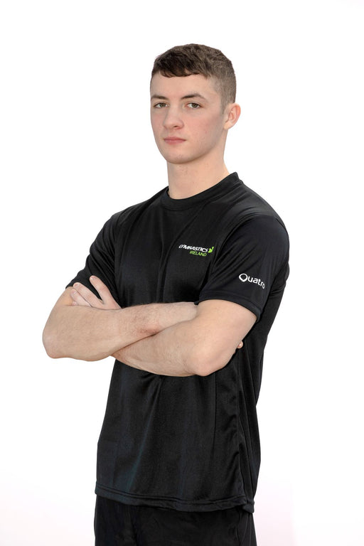 Gymnastics Ireland BLACK T-Shirt