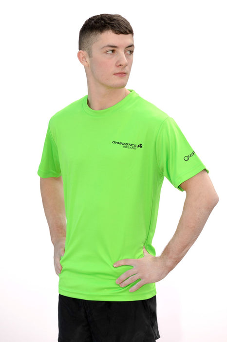 Gymnastics Ireland LIME T-Shirt
