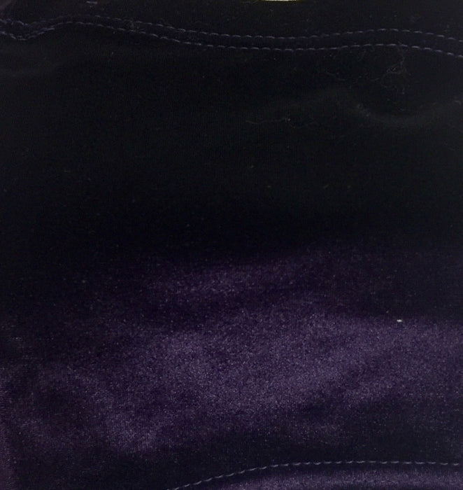 Velour Shorts Size 36 PLAIN