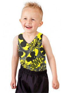 Boys Kapow Leotard & Shorts Combo