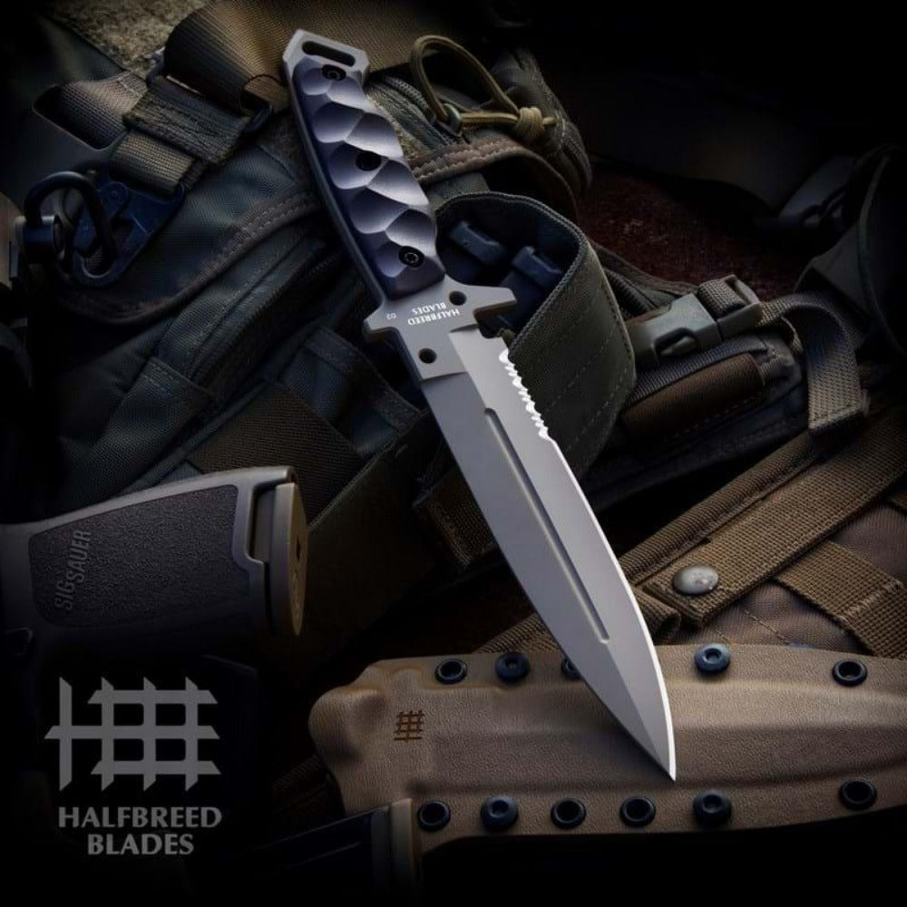 Halfbreed Blades Medium Infantry Knife MIK-01PS