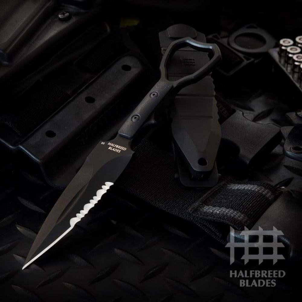 Compact Clearance Knife Black