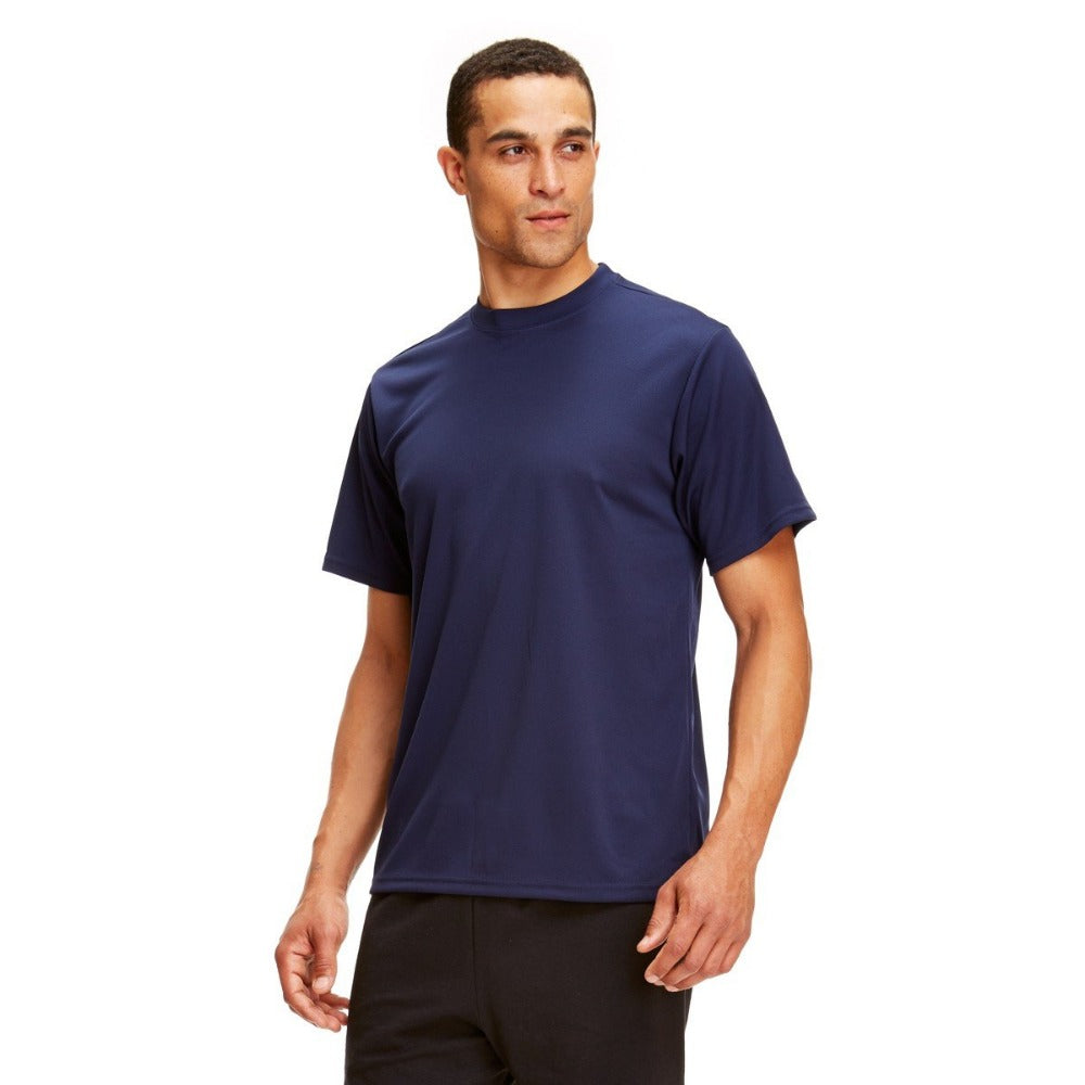 Quick Dri PT Shirt Navy Blue