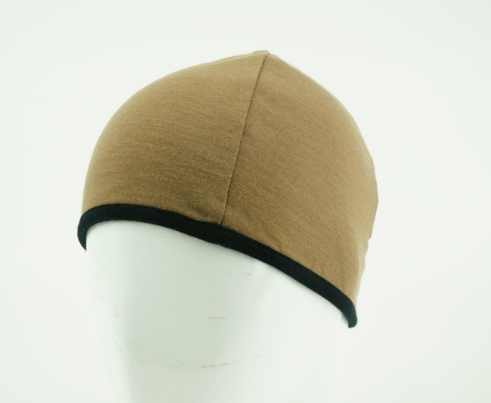 MP Beanie Reversible Olive Green Side
