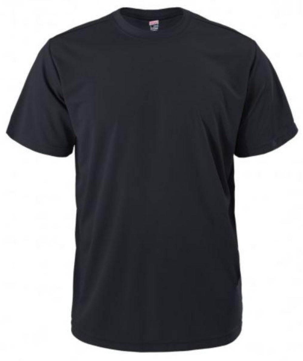 Quick Dri PT Shirt Black