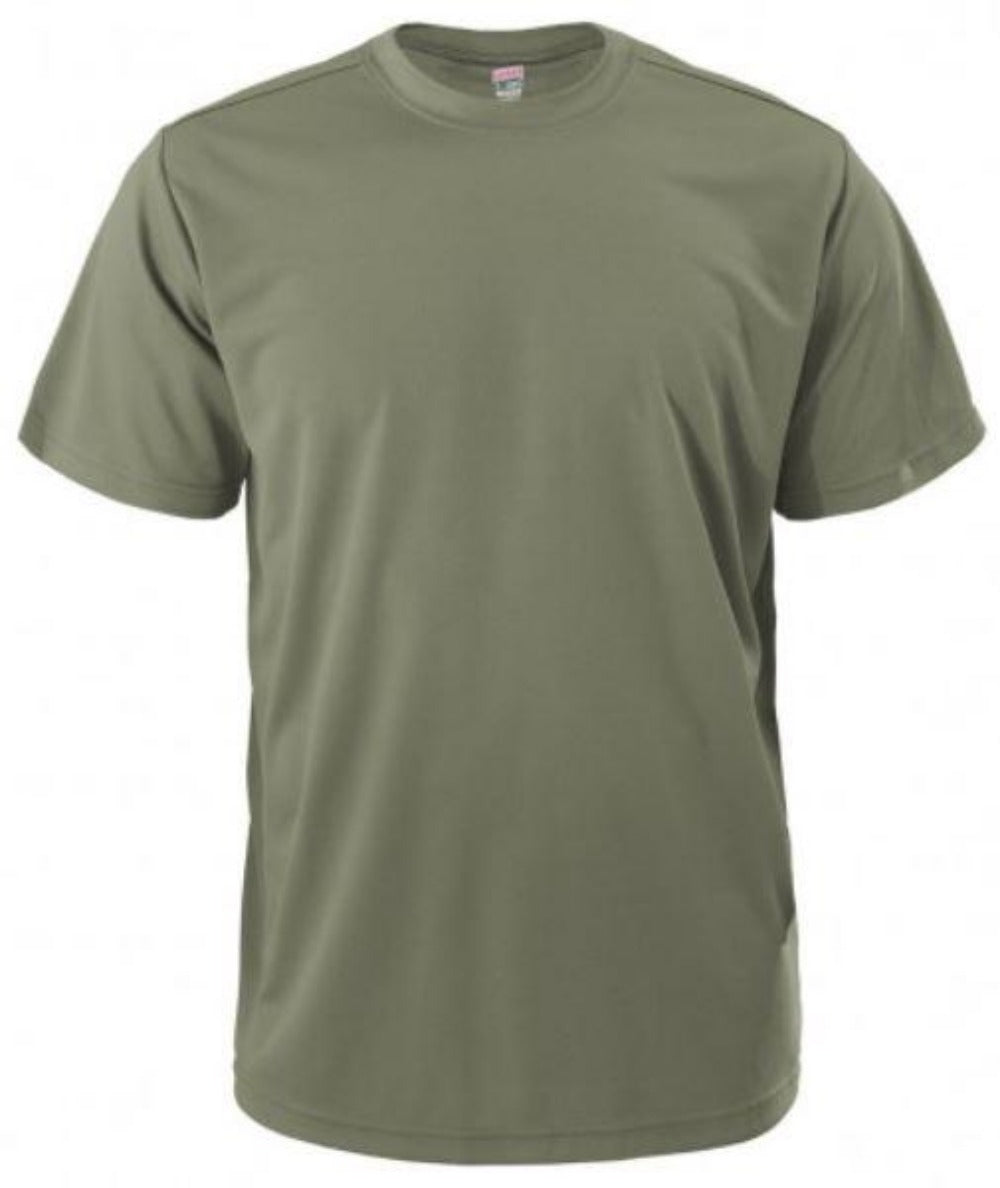 Quick Dri PT Shirt OD Green