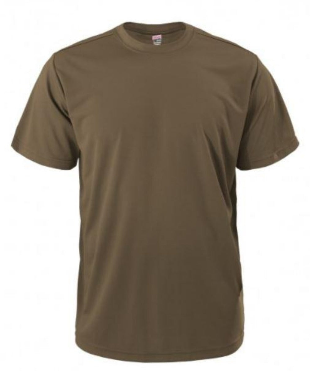Quick Dri PT Shirt Tan