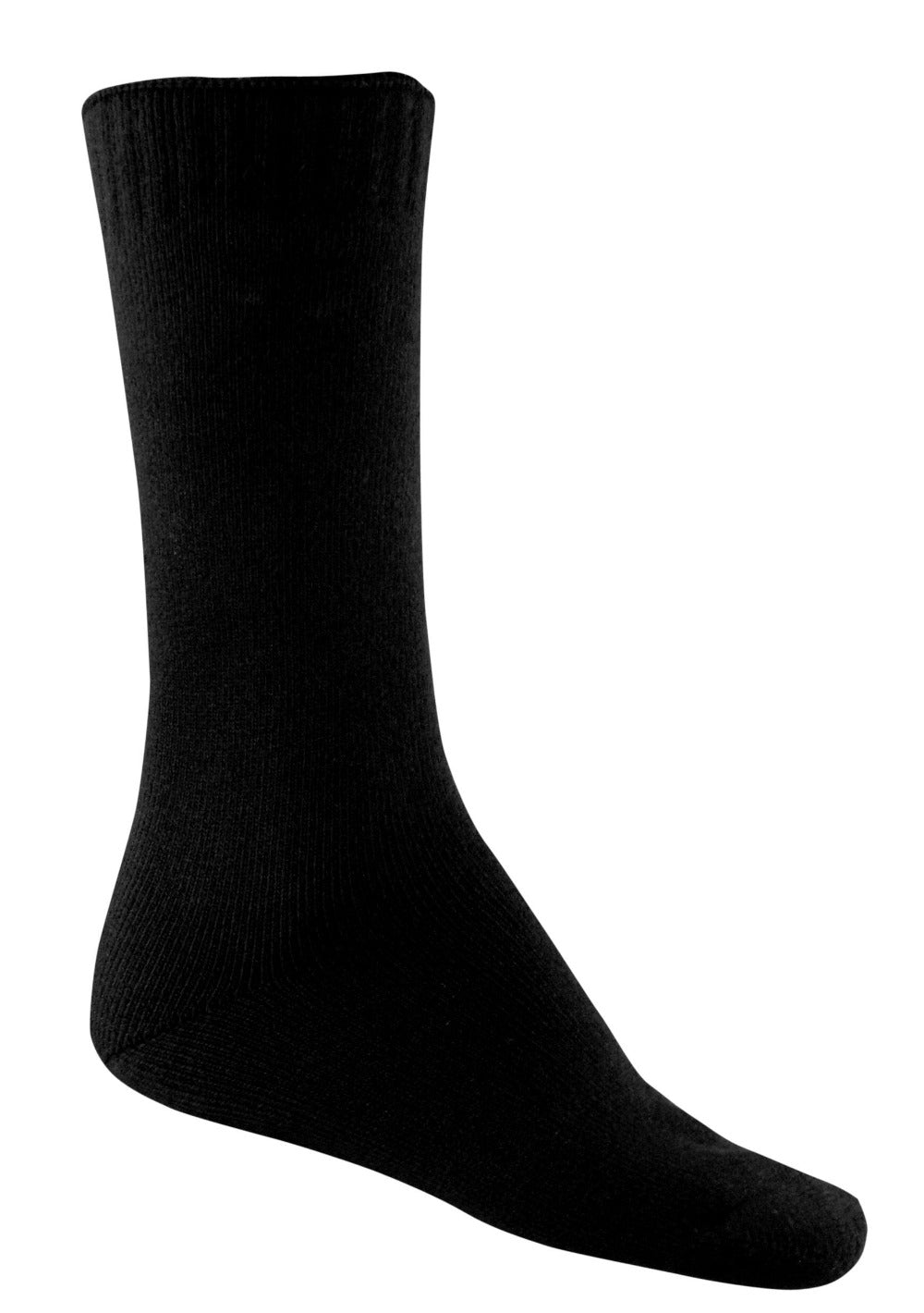 Bamboo Faster Drying Socks - Black