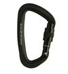 Vapor Black Screw Gate Carabiner