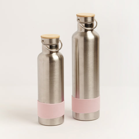 STAINLESS STEEL DRINK BOTTLE - PINK