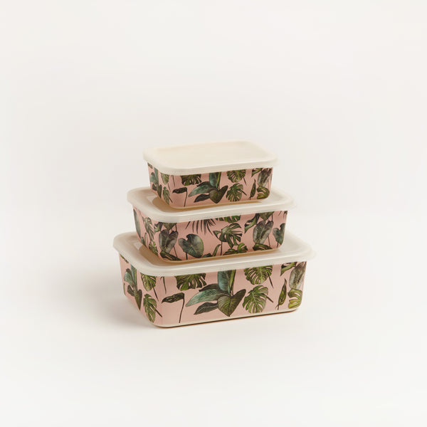 MONSTERA LUNCH SET