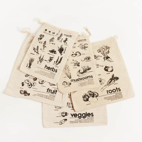 LINEN ROOT VEGETABLE BAG