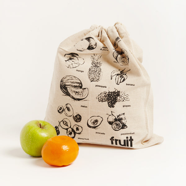 LINEN FRUIT BAG