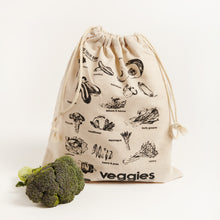 Load image into Gallery viewer, LINEN VEG BAG