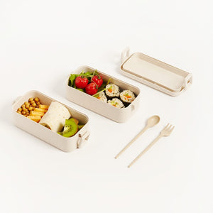 ECO-FRIENDLY LAYERED LUNCHBOX